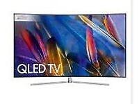 Samsung TV 55 Q7C Series QE55Q7CAMT model Smart TV