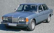 W123 Sitzbezug