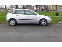 2004 FORD FOCUS 5 DOOR HATCHBACK, 1400CC ENGINE, ALLOYS. NEW CAMBELT. LONG MOT CHEAP TAX.