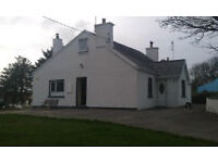 Donegal Holiday Cottage-4 Bedroom-Family-Friendly-Pets Welcome-Gaeltacht Area-Gweedore