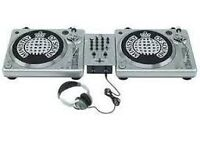 Ministry of Sound decks turntables DJ vinyls Like New