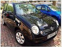 VW VOLKSWAGEN 2003 LUPO SE AUTO BLACK, FULL SERVICE HISTORY & MOT TILL MAY 2017