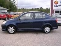 2004 Toyota Echo Base Sedan 47 mpg ONE OWNER $2750 .00!!!!!!!