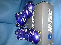 Blue Hi-Tec size 13 Football boots