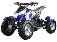 NEW 500W ELECTRIC ZIPPER QUAD BIKES FREE UK DELIVERY