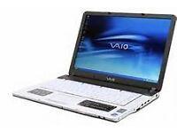 Sony Vaio laptop, good condition