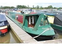 Narrowboat for sale, with new wngine.