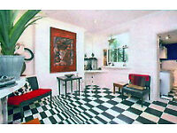 Large Double Room In A Lovely Peaceful, Artist Inspired House In Kemptown, Brighton.