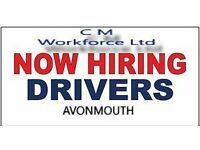 Delivery Drivers 7.5t c1 & 3.5t Van Drivers and Delivery Mates in Avonmouth & Exeter