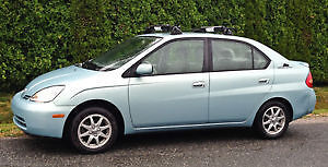 2001 Toyota Prius Sedan. Auto, Ac, Certified, Loaded. Clean!