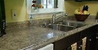 Special of the month Kitchen counter install 499$