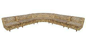 Mid Century Sectional Sofa  sc 1 st  eBay : sectional sofa ebay - Sectionals, Sofas & Couches