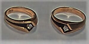 Beautiful Matching his and hers rings – Only $30 for the pair
