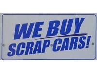 SCRAP CAR OR SCRAP VAN, ANY THING CONSIDERED