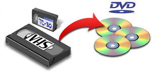 Converting VHS, 8mm to DVD