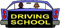 ($15 EXAM CAR).DRIVING LESSONS/COURSES/CLASSES=COURS DE CONDUITE