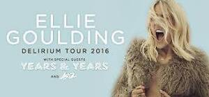 2x Ellie Goulding tickets, great seats! Camperdown Inner Sydney Preview