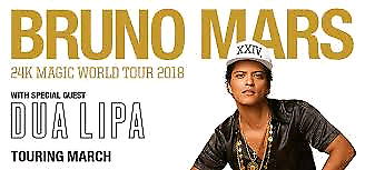 Bruno mars concert 2x  Bruce Belconnen Area Preview