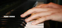 Piano lessons cours du Piano