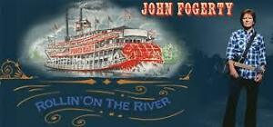 John Fogerty ***GOLD CLUBS in ROW 1***