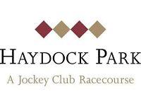 HAYDOCK RACECOURSE - 24TH SEP - SATURDAY - TATTERSTALLS - £25 for 2 tickets