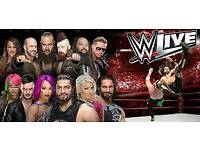 X2 WWE Live August 29th o2 arena London, Block C2, Row K