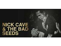 Nick Cave & the Bad Seeds 28th September Nottingham Arena seating and standing, very good seats
