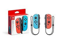 *BRAND NEW* Nintendo Switch Joy-Cons Neon Red + Blue *BARGAIN*