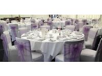 Quality Chair and Table Cover Hire in Preston Area £.60p! £.60p!!£.60p!!!