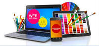 Website starting from $250, Logo, Business Card, Graphic Design