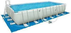 Intex Prism Frame Above Ground Swimming Pool Paralowie Salisbury Area Preview