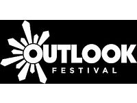 Outlook Festival Ticket with Drum and bass arena boat party tickets x6