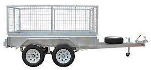 Trailers Galvanized45mm dble axle 8x5 9x5 9x6 10x5 10x6 12x5 12x6 Dapto Wollongong Area Preview