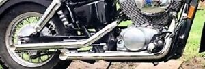 Want this exhaust 1999 Honda shadow ace 750