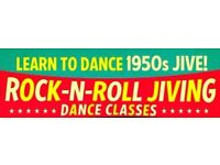 Learn 1950's Rock n Roll and Jive Dance Classes in Aspull