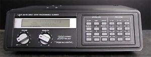 200 channel Scanner and antenna