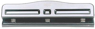 Officemate Adjustable Three Hole Punch, 11 Sheet Capacity, B