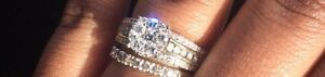 9ct Gold Diamond Cluster Dress Ring Marangaroo Wanneroo Area Preview