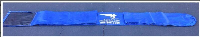 VS Athletics Vaulting Pole Bag, blue, new, never used