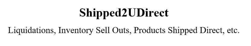Shipped2UDirect