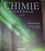Chimie générale 3e édition