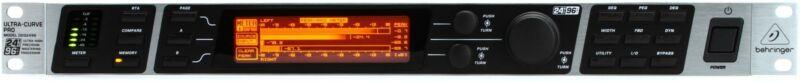 Behringer Ultracurve Pro DEQ2496 2-channel Equalizer and Mastering Processor