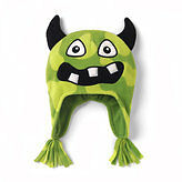 SIZE 3T-4T CHILDREN'S PLACE - Microfleece Monster Hat