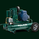 3HP ELECTRIC PORTABLE COMPRESSOR FROM ROLAIR