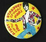 David Bowie Badge