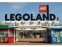 Legoland tickets x2 28/07/17 summer holidays