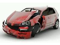 Scrap cars, vans and motor bikes