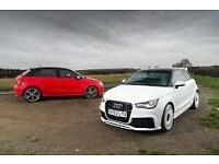 Audi s1 breaking