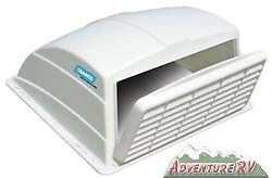 Camco RV Camper Trailer Motorhome Roof Vent Rain Cover White