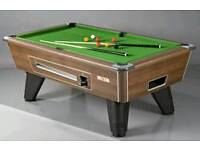 looking for a slate bed pool table